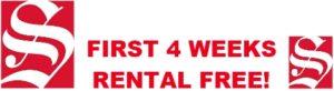 self store first 4 weeks rental free