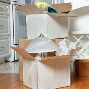 decluttering in Newgate Street security self storage household items image